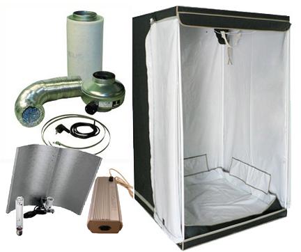 w shop komplett sett med telt 600w hps lampe og ventilasjon. Black Bedroom Furniture Sets. Home Design Ideas